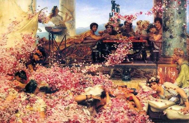 Roses Heliogabala   Lawrence Alma Tadema