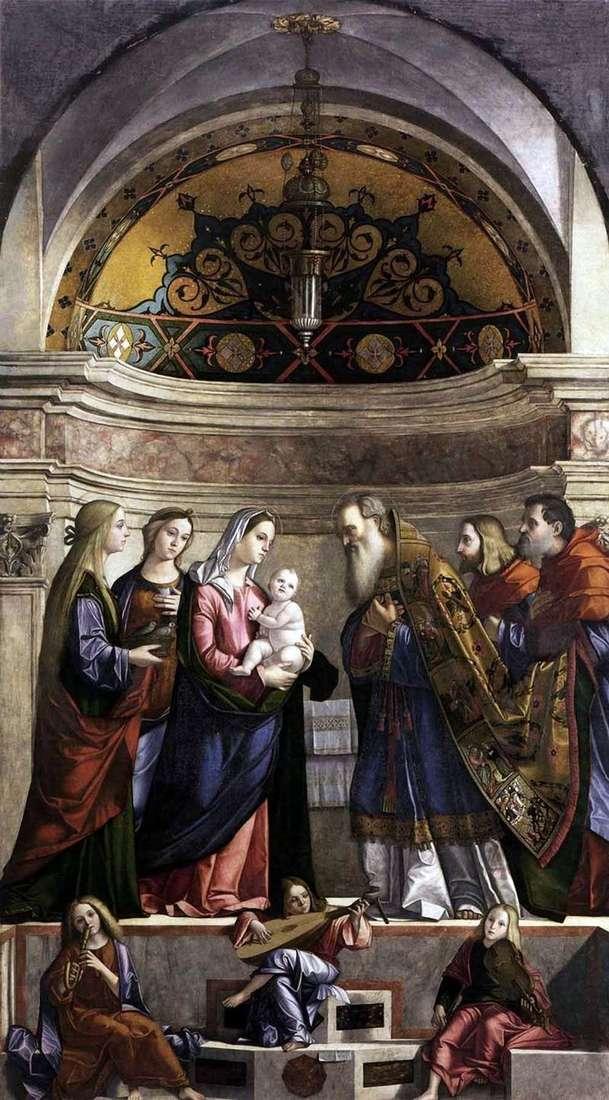 Przeniesienie do świątyni   Vittorio Carpaccio