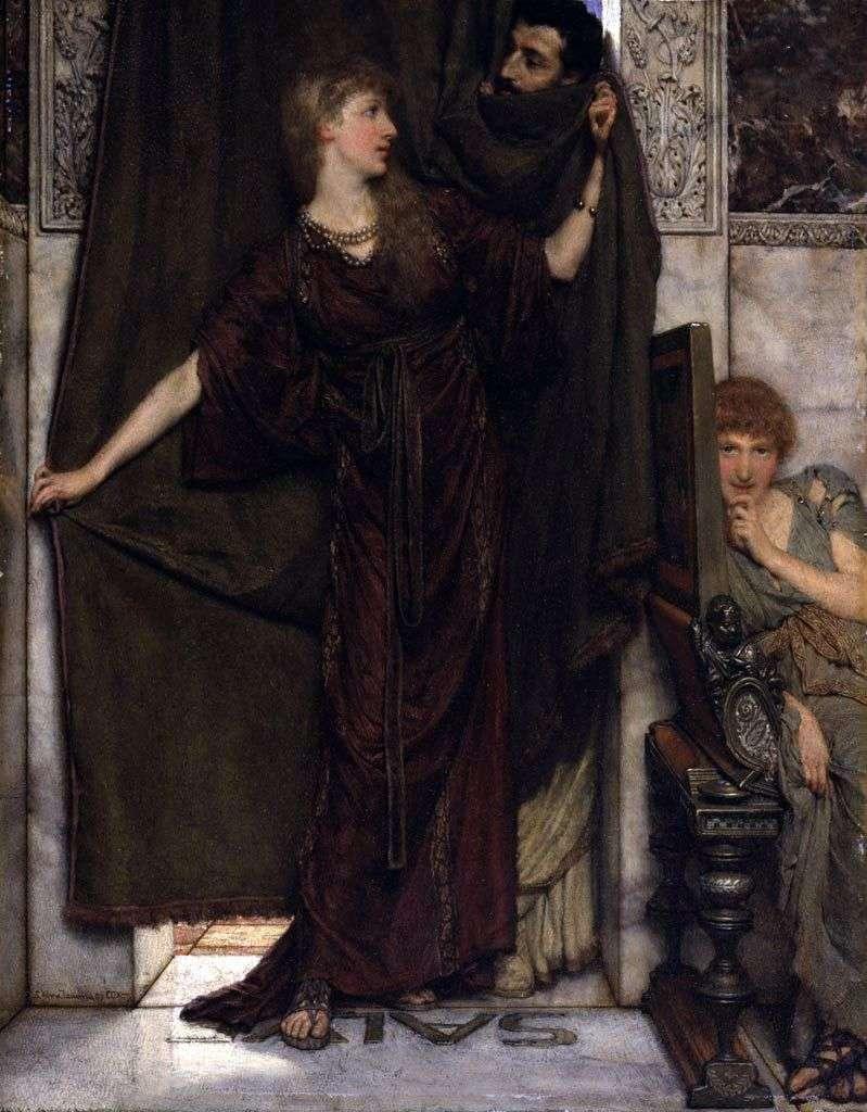 Tylko nie w domu   Lawrence Alma Tadema