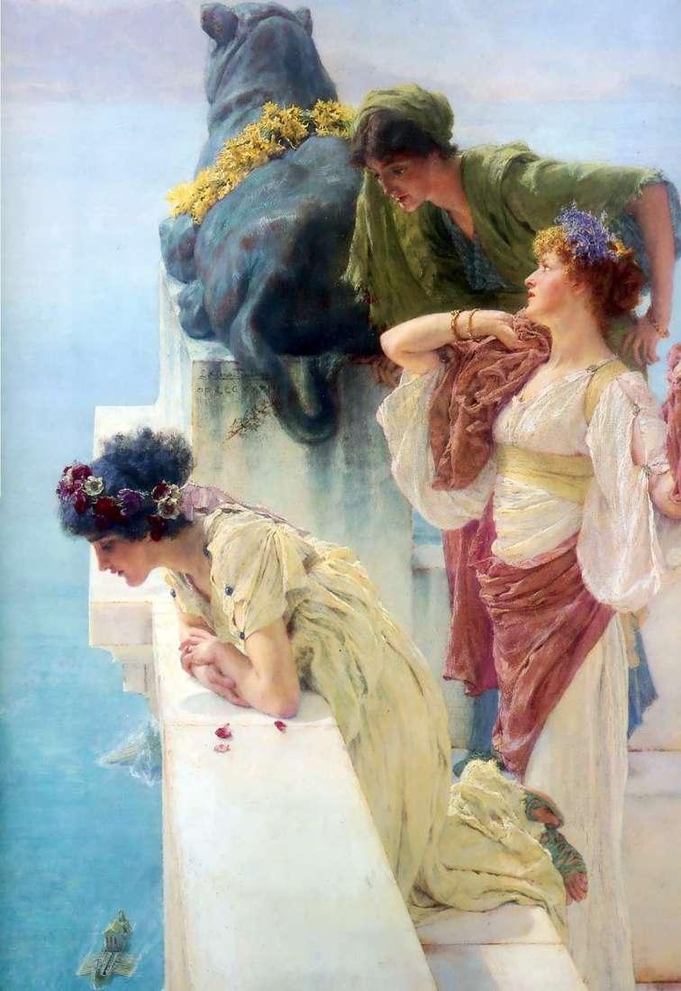 Taras widokowy   Alma Tadema Lawrence