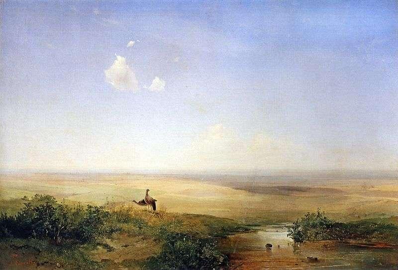 Step po południu   Aleksiej Sawrasow