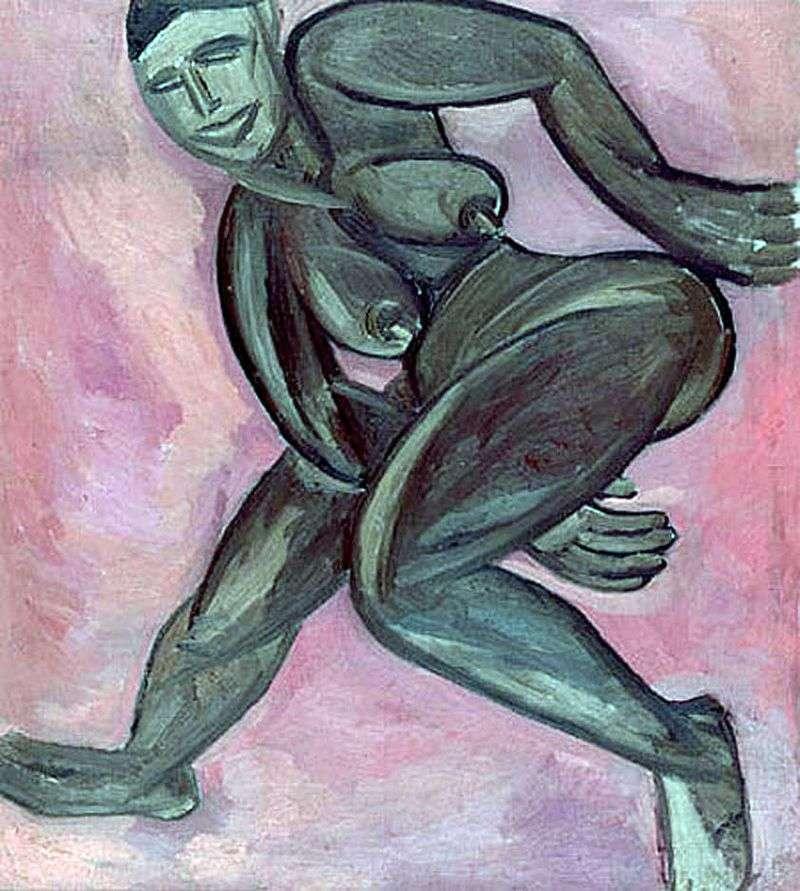 Nude Black Woman   Natalia Goncharova