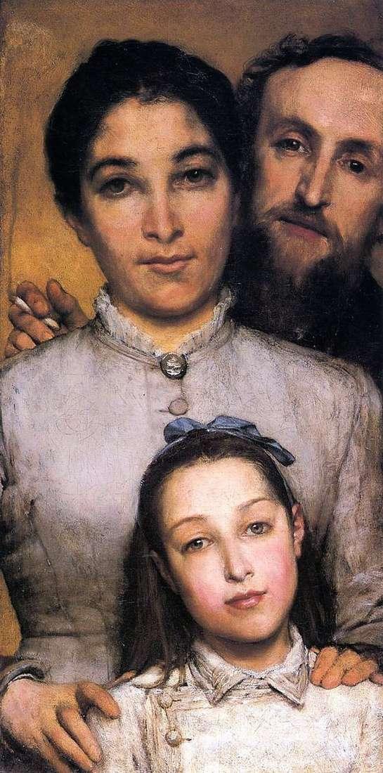 Ame Jules Dahl, jego żona i córka   Lawrence Alma Tadema