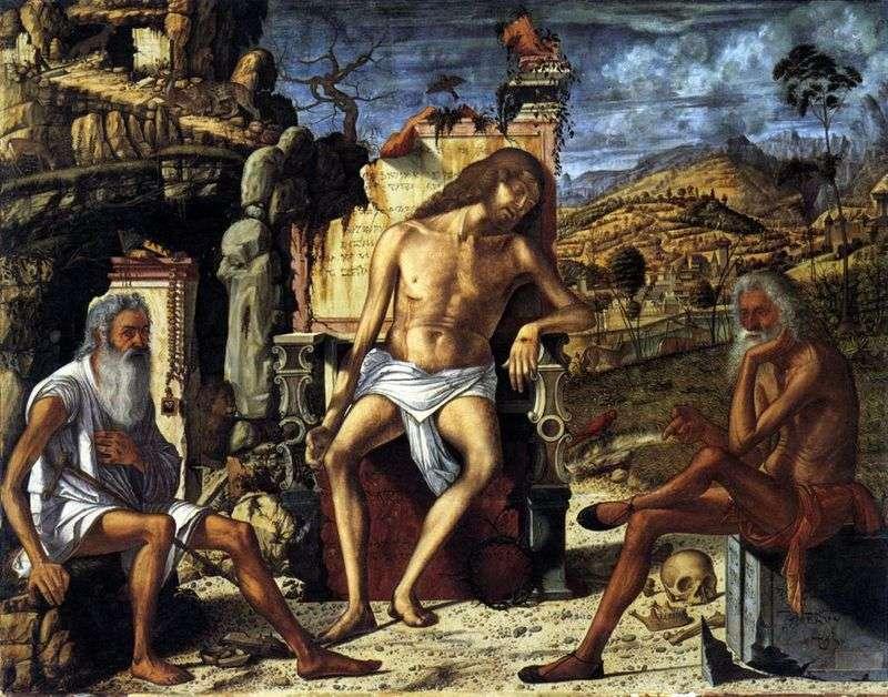 Refleksje na temat męki Chrystusa   Vittore Carpaccio