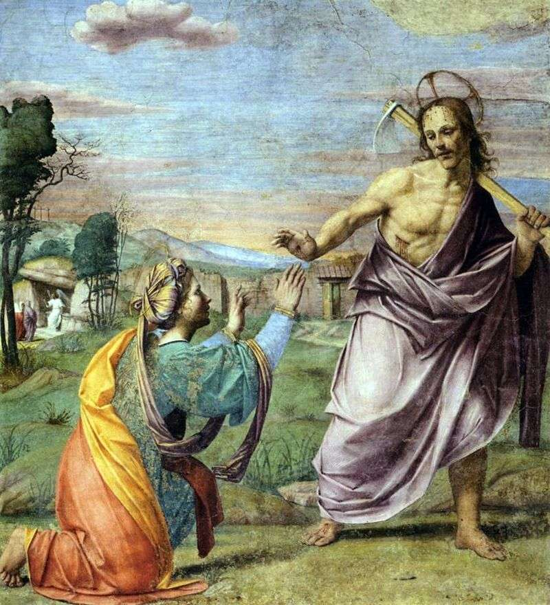 Wygląd Chrystusa   Franciabigio