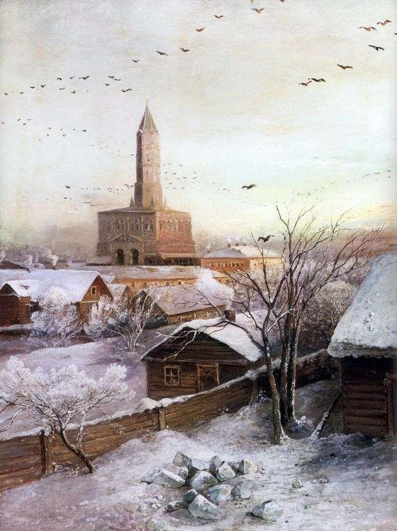 Wieża Sukharev w Moskwie   Aleksiej Sawrasow