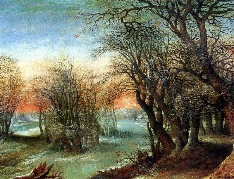 Zimowy krajobraz   Denis Alslot