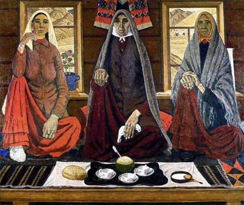 Trzy kobiety   Akhmat Lutfullin