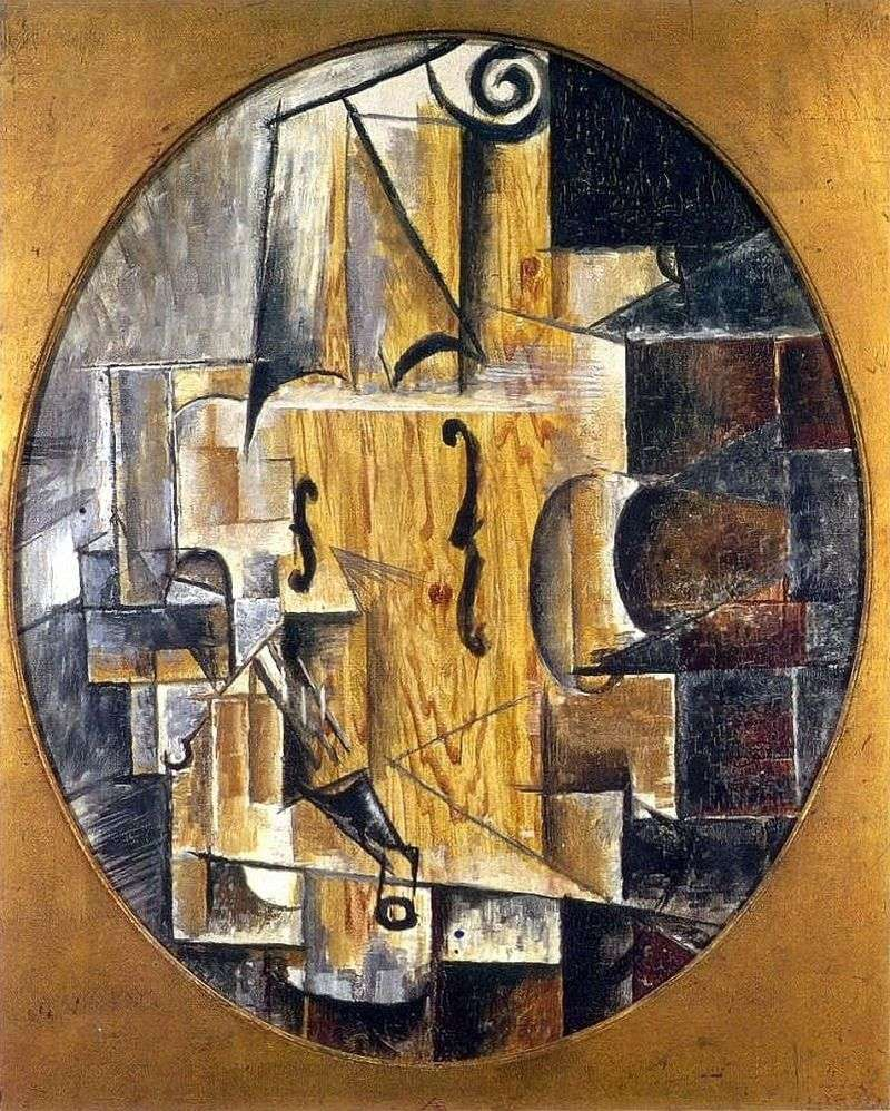 Skrzypce   Pablo Picasso