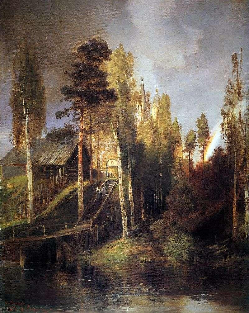 U bram klasztoru   Aleksiej Sawrasow