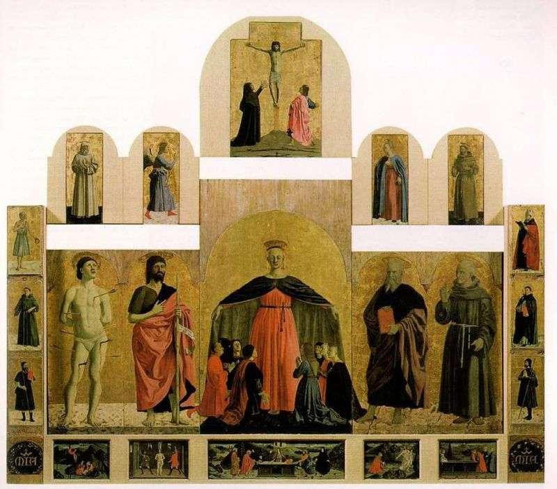 Obraz ołtarzowy z Kościoła Bractwa Miłosierdzia   Piero della Francesca