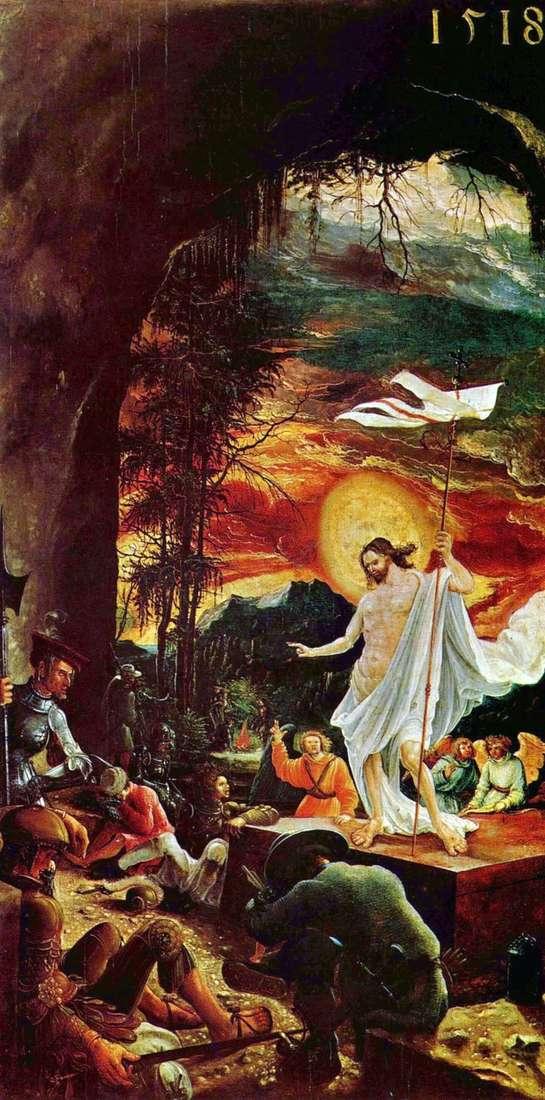 Zmartwychwstanie Chrystusa   Albrecht Altdorfer