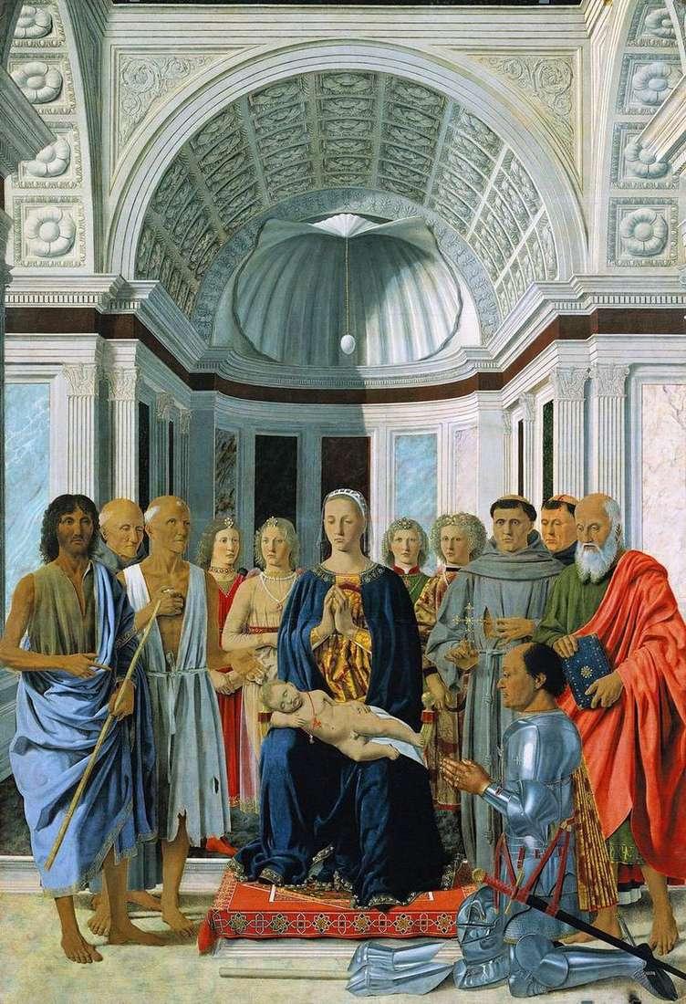Ołtarz Montefeltro   Piero della Francesca