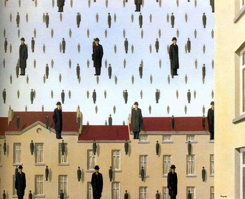 Golkonda   Rene Magritte