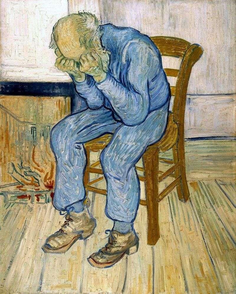 Na progu wieczności   Vincent Van Gogh