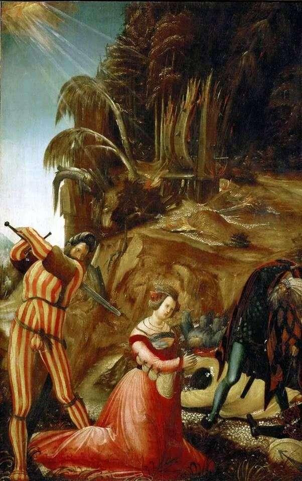 Egzekucja św. Katarzyny   Albrecht Altdorfer
