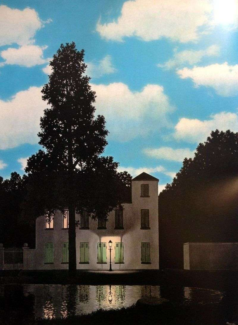 Imperium Światła   Rene Magritte