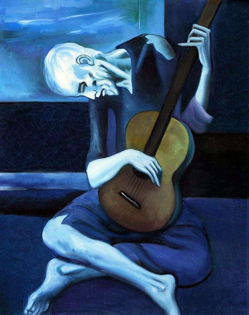 Stary gitarzysta   Pablo Picasso