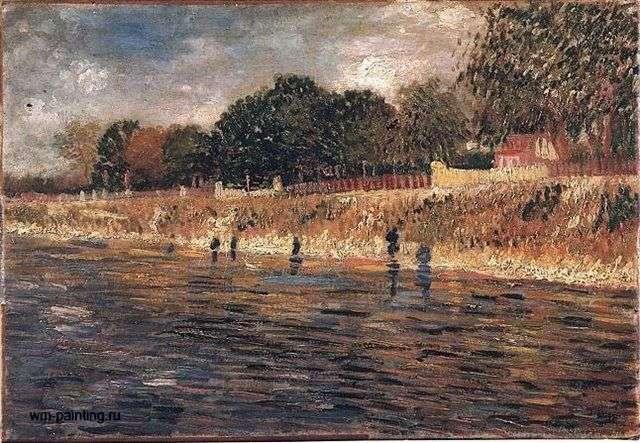 Nabrzeże Sekwany   Vincent Van Gogh