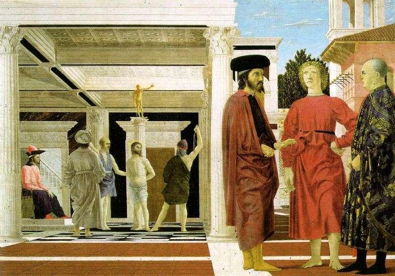 Biczowanie Chrystusa   Piero della Francesca