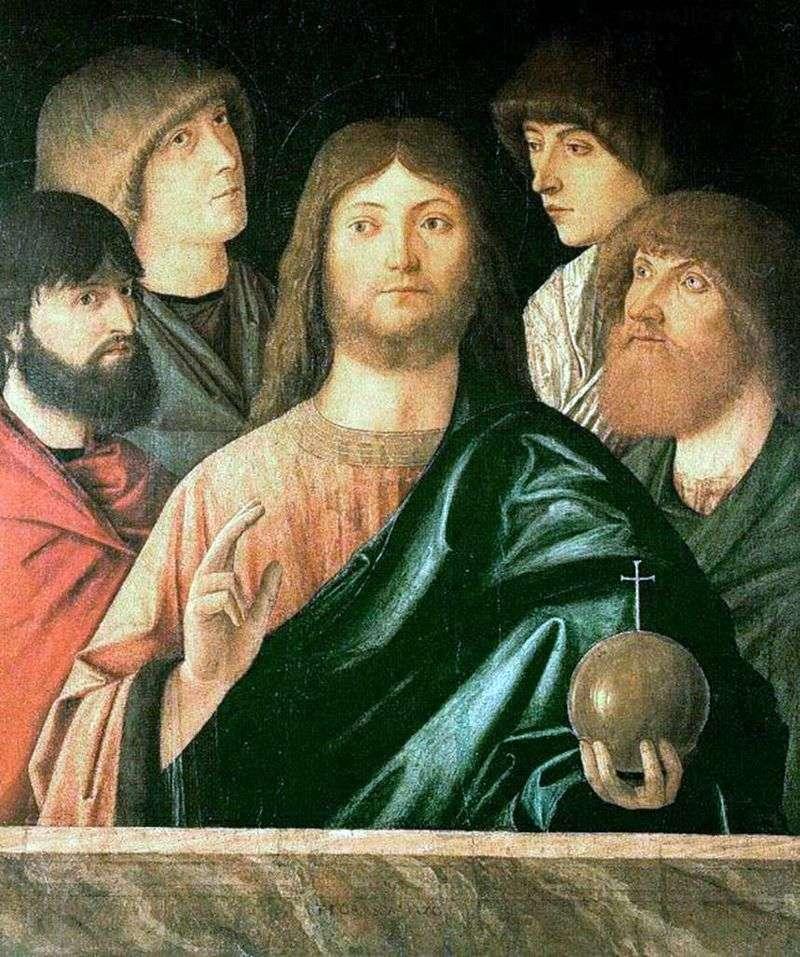 Zbawiciel i czterech apostołów   Vittore Carpaccio