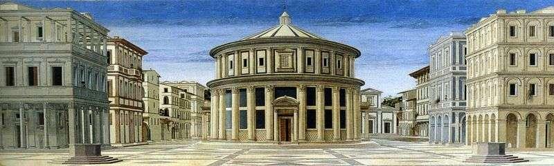 Widok na idealne miasto   Piero della Francesca