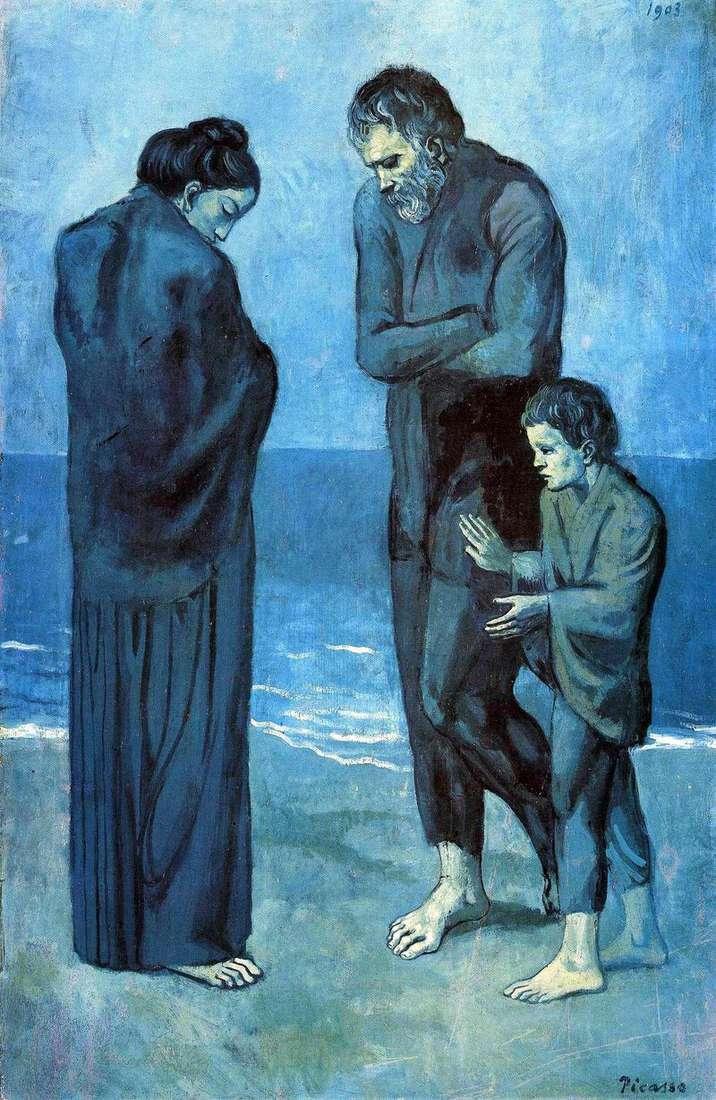 Tragedia   Pablo Picasso