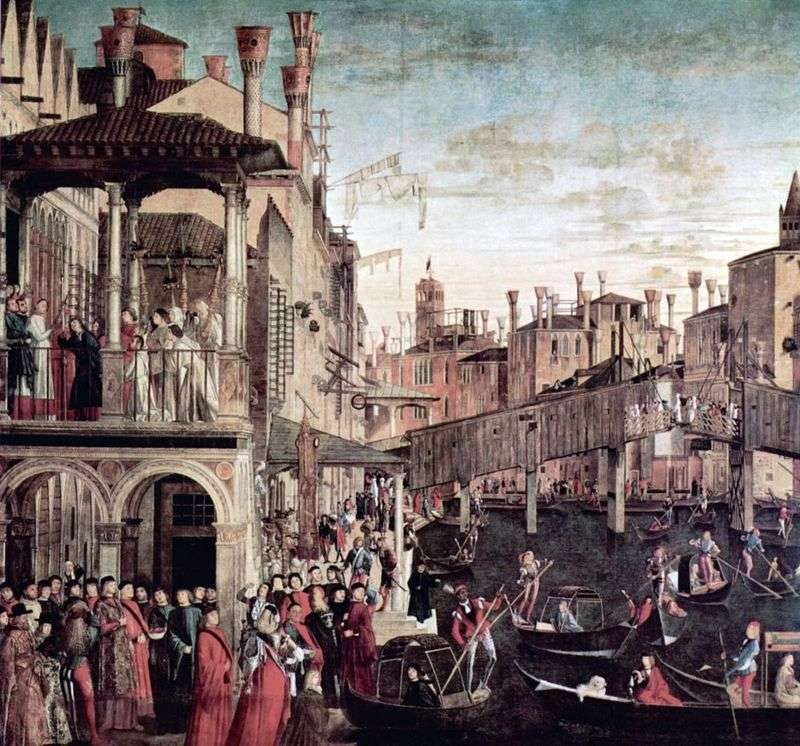 Wonder Relics Świętego Krzyża   Vittore Carpaccio