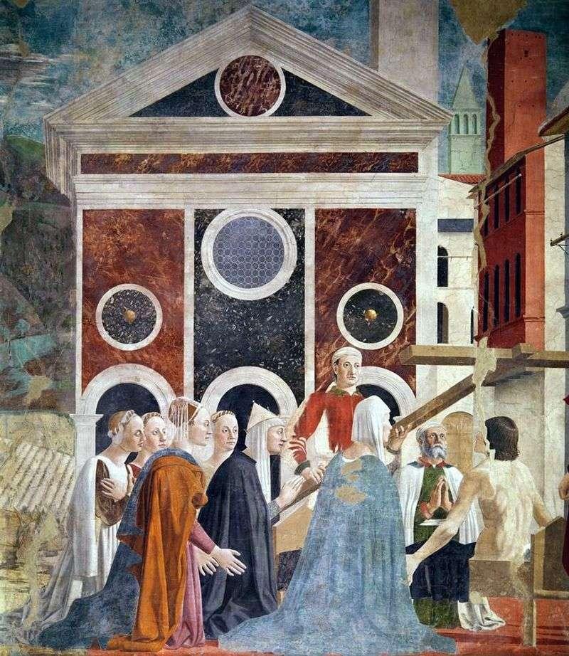 Podwyższenia Krzyża Świętego   Piero della Francesca