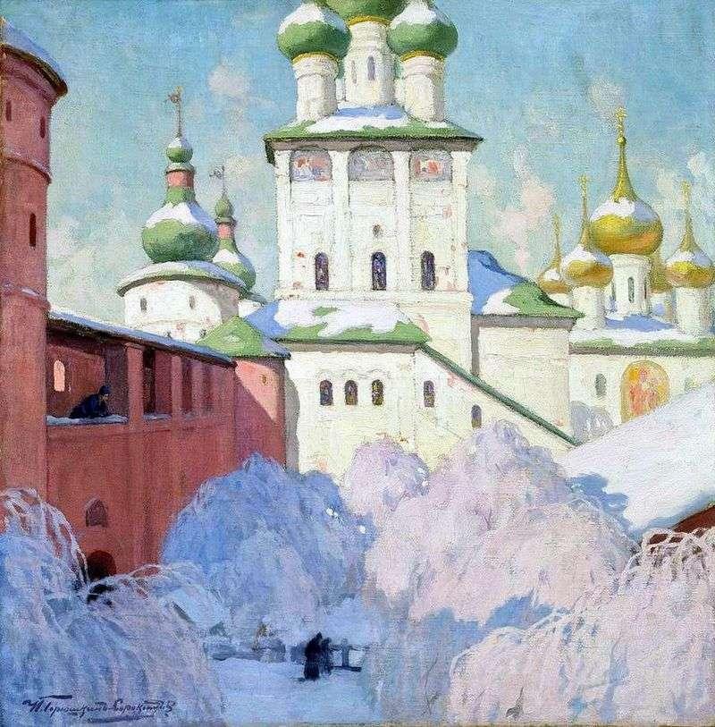 Zima Rostov Kremlin   Ivan Goryushkin Sorokopudov