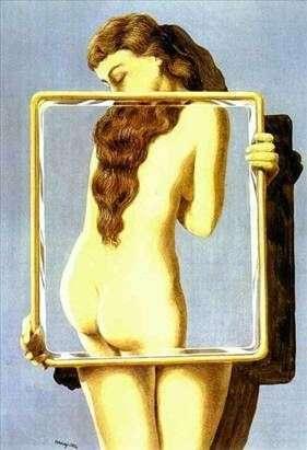 Niebezpieczna lekcja   Rene Magritte