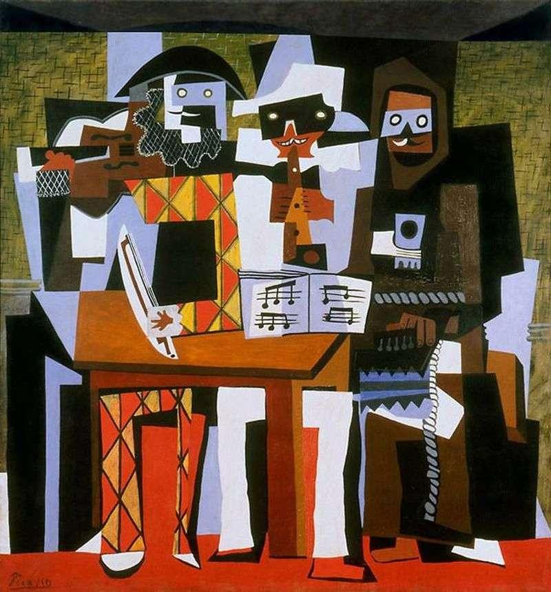 Trzej muzycy   Pablo Picasso