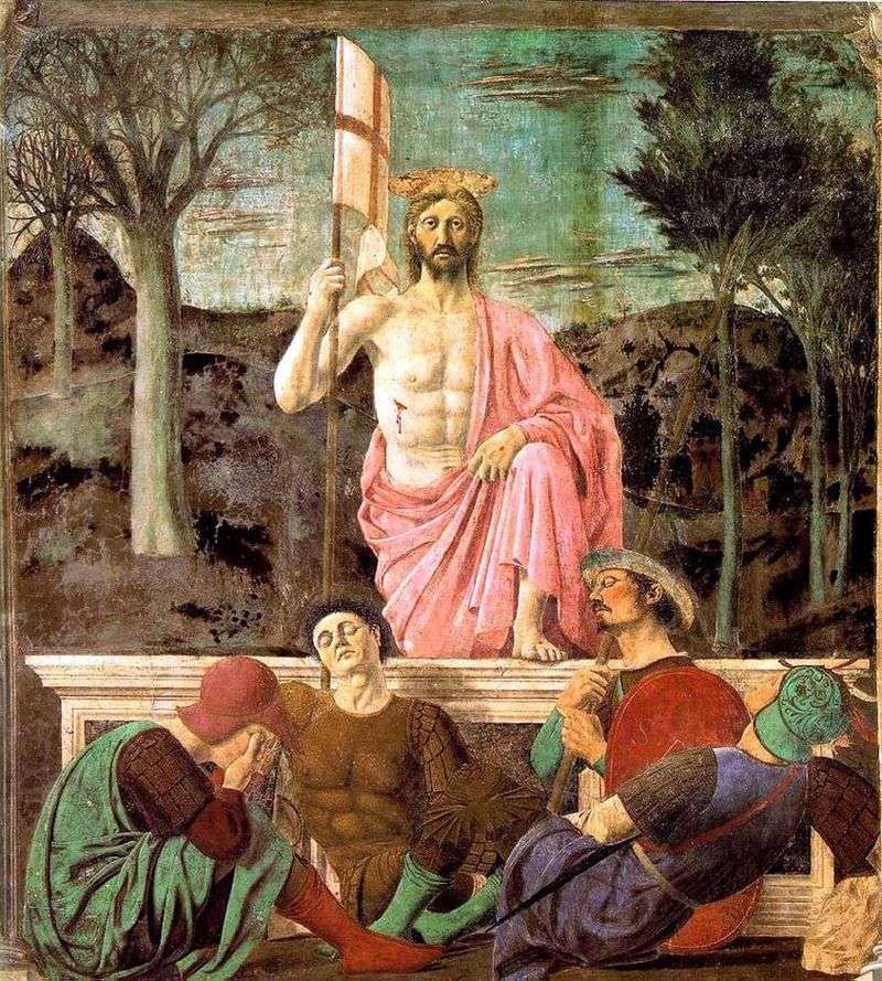 Zmartwychwstanie   Piero della Francesca