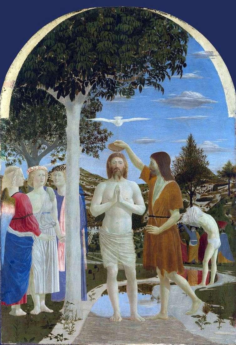 Chrzest Chrystusa   Piero della Francesca