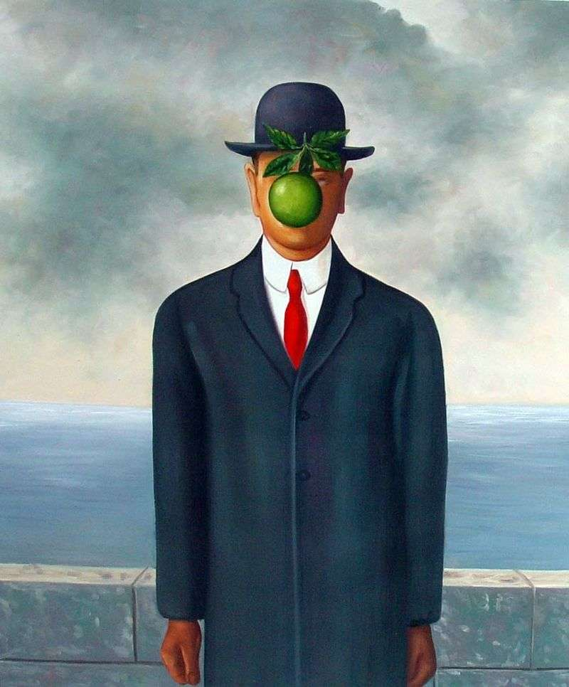 Syn Człowieczy   Rene Magritte