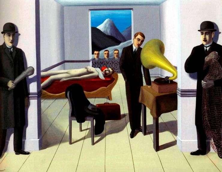 Groźba morderstwa   Rene Magritte