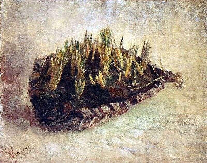 Martwa natura z koszem Crocus   Vincent Van Gogh