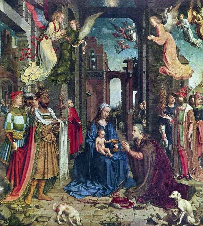 Adoracja Trzech Króli   Jan Gossaert