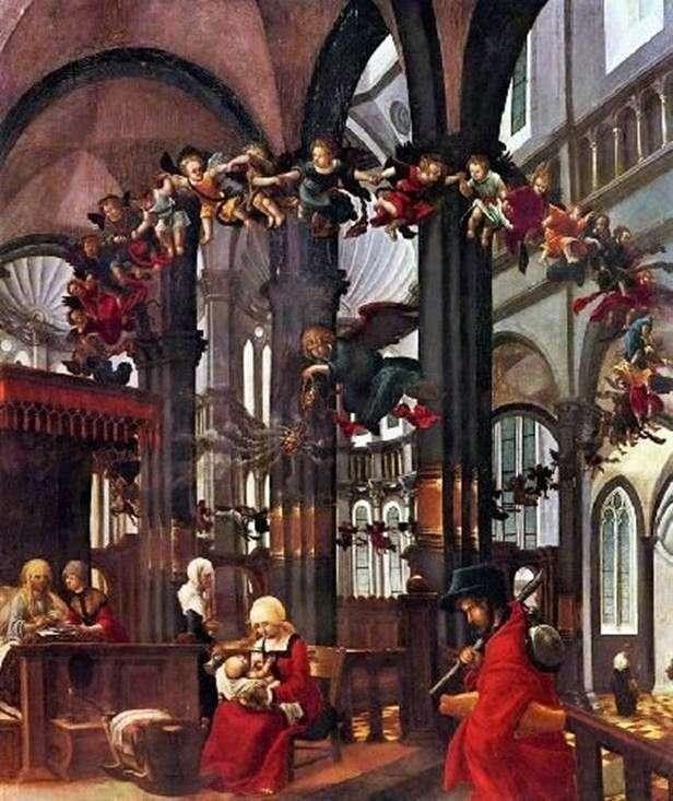 Święta Marii   Albrecht Altdorfer