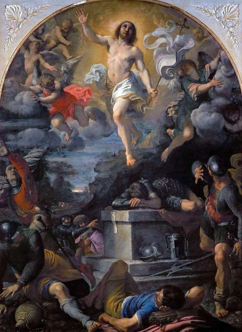 Zmartwychwstanie Chrystusa   Annibale Carracci