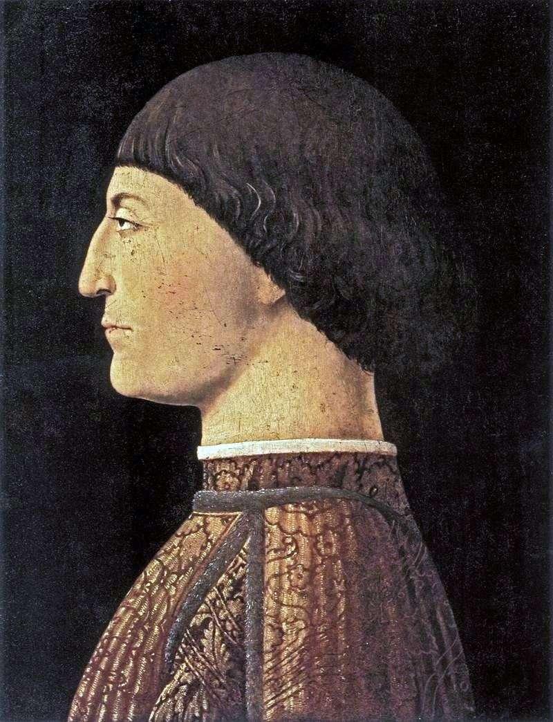 Portret Sigismondo Malates   Piero della Francesca