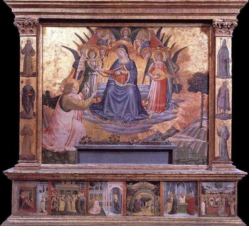 Madonna z pasem   Benozzo Gozzoli