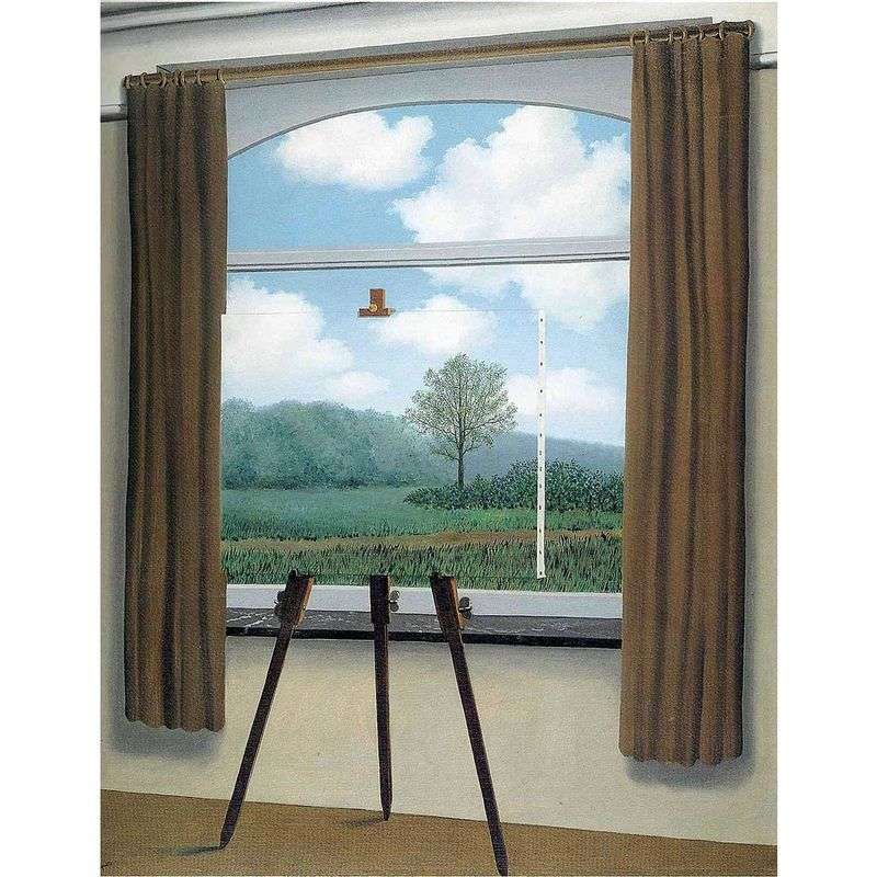 Human Piece I   Rene Magritte