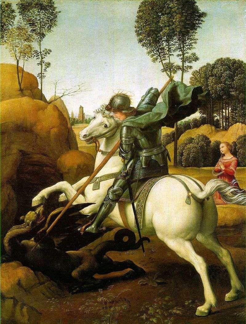Bitwa pod St George z Smokiem   Rafael Santi