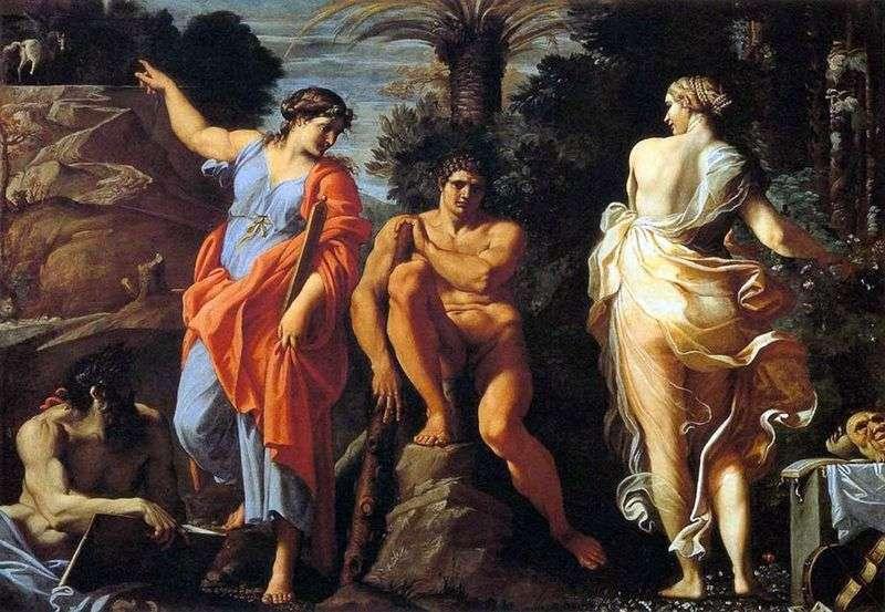 Wybór Herkulesa   Annibale Carracci