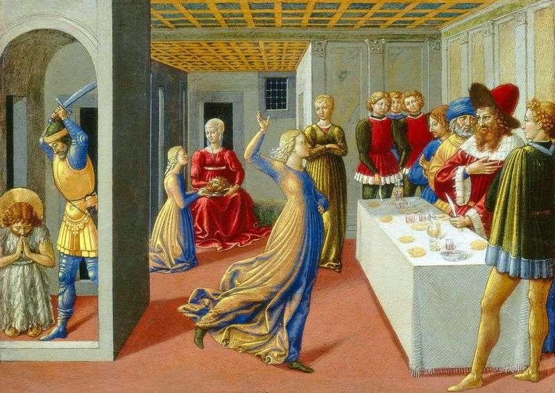 Święto Heroda i ścięcie Jana Chrzciciela   Benozzo Gozzoli