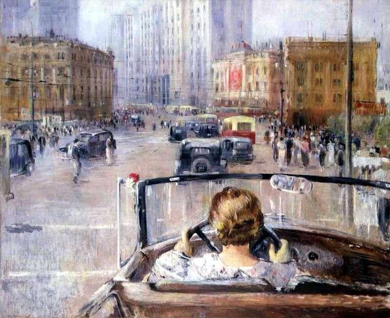 Nowa Moskwa   Yuri Pimenov