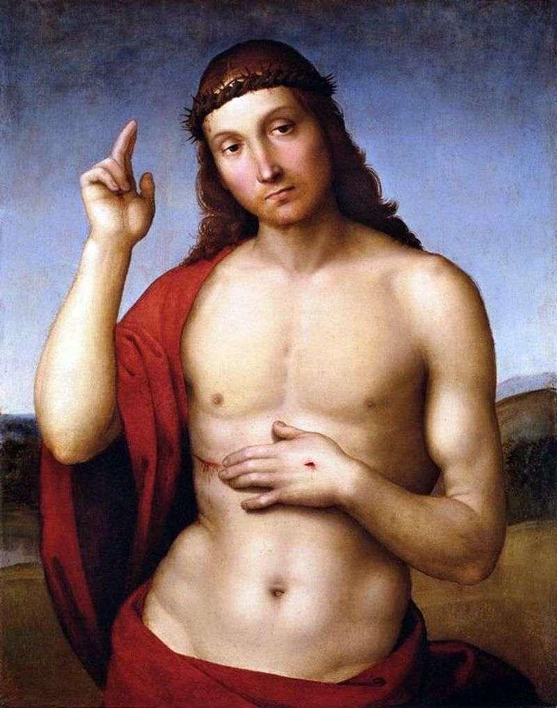 Błogosławieństwo Chrystusa (Pax Vobiscum)   Rafael Santi