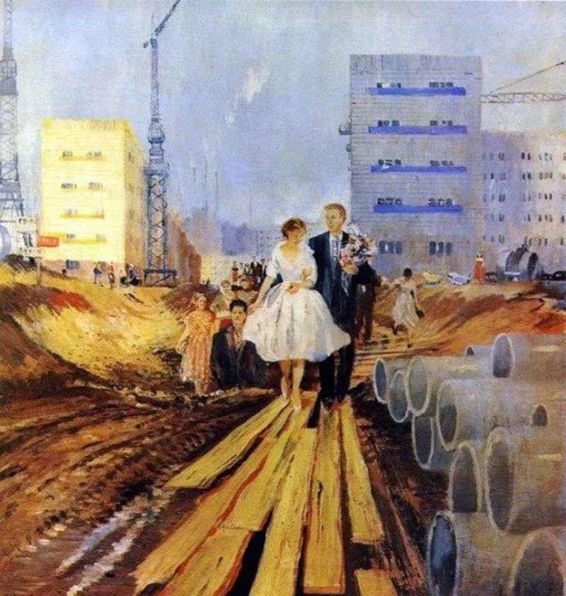 Ślub na jutrzejszej ulicy   Yuri Pimenov