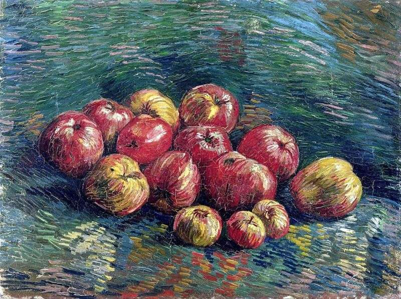 Martwa natura z jabłkami   Vincent Van Gogh